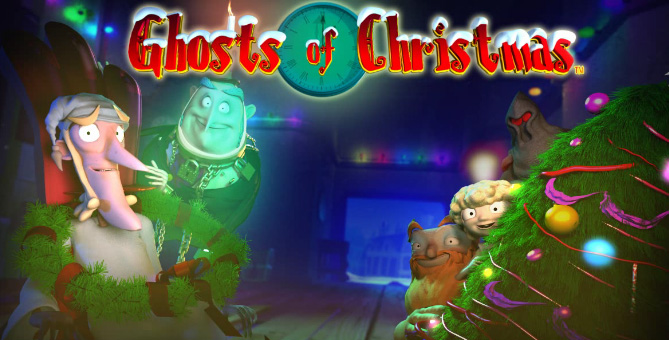 Ghosts of Christmas free pokies game