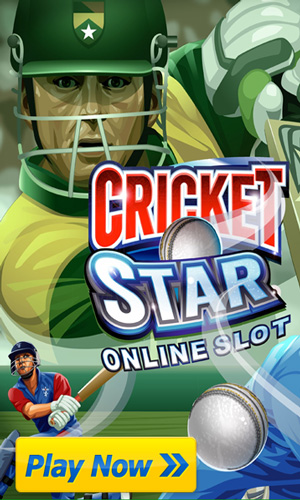 Play Cricket Star Pokies - FREE HERE !