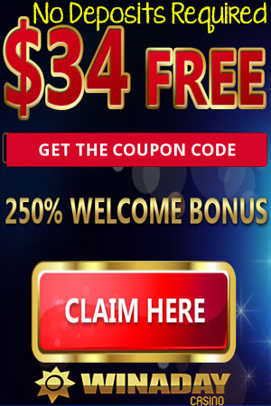 Exclusive ! - $34 FREE to Play with - No Deposits Required...