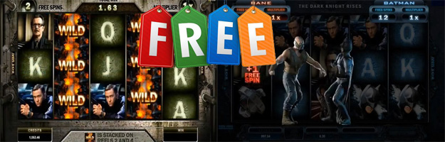 Play Free Dark Knight Rises Batman Slots Pokies