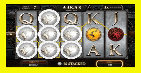 Game of Thrones Free Pokies Slots Game