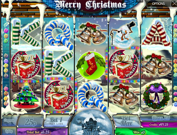 Merry Xmas pokies how to play