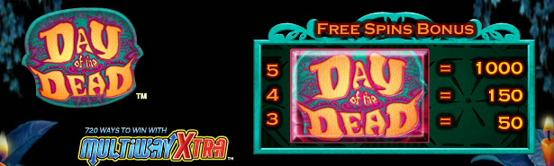 Day of the Dead free spins bonus