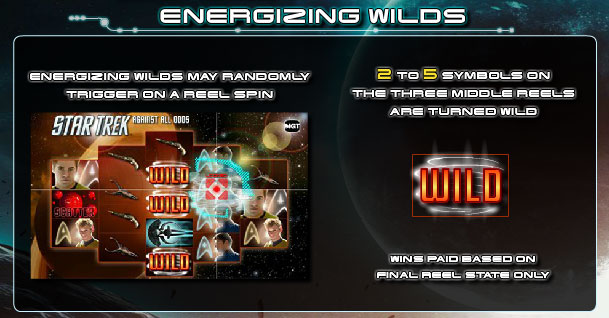 Energizing Wilds feature