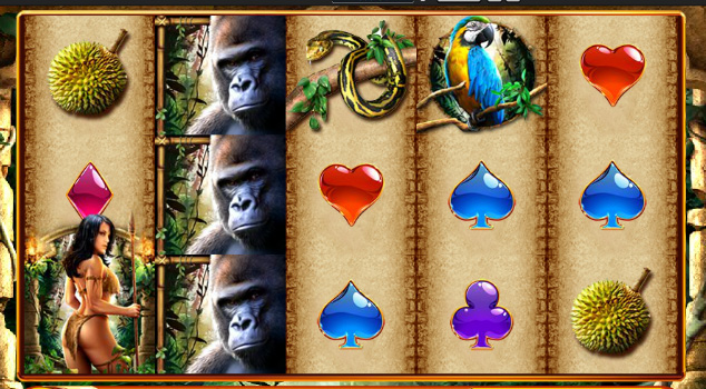 Queen of the Wild free WMS slots game guide