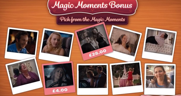 Magic Moments Bridemaids pokies slot bonus
