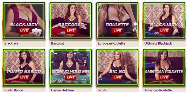 Live Dealer games at SlotJoint