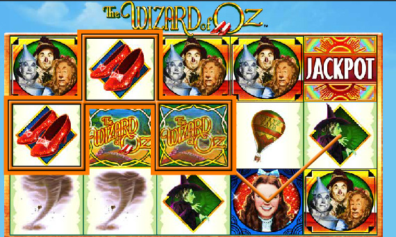 Wizard of Oz Poker Machine