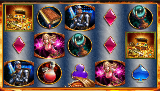 Dragons Inferno Williams Slot Machine