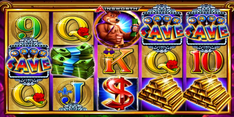 Cash Cave free slots by Ainsworth pokies