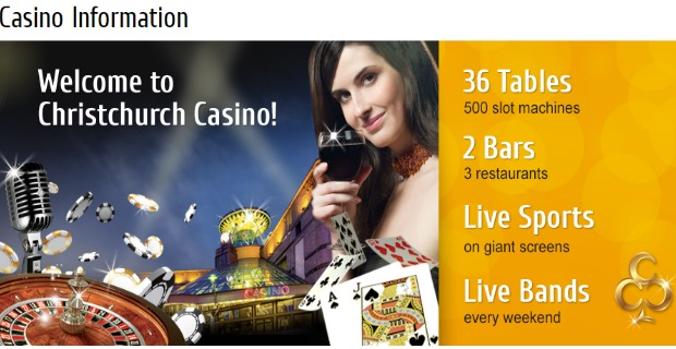 Christchurch Casino Guide & Review