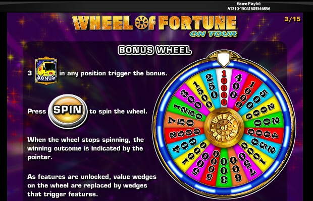 IGT Wheel of Fortune on Tour